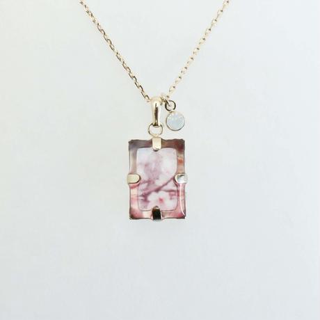 いつかのどこかのネックレス中粒 #木次の桜 2 / CONNI