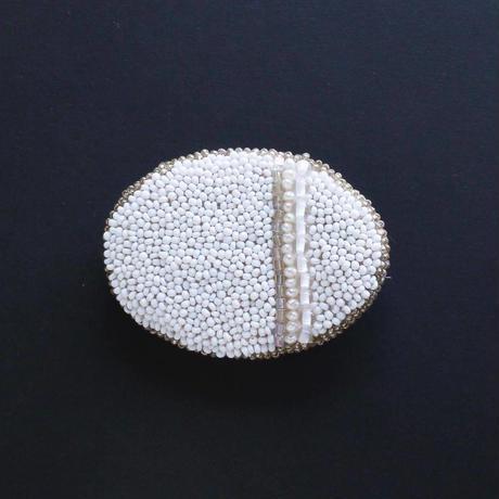 ブローチ oval No.32-1  KAO