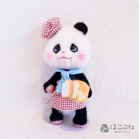あみぐるみ パンダのパン屋さん Minamin*