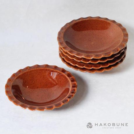 20 豆皿 キャラメル 木本紗綾香
