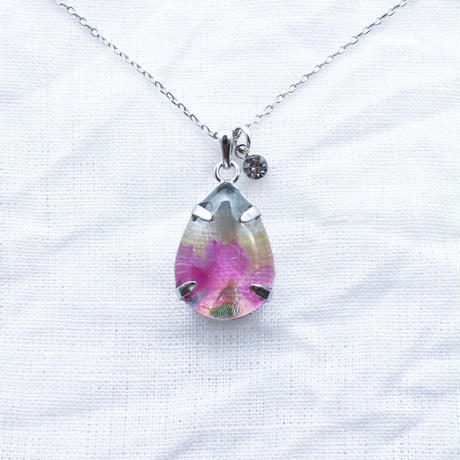 いつかのどこかのネックレス大粒#紫陽花4 / CONNI