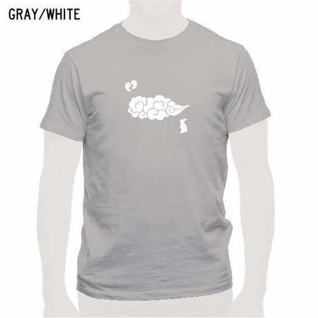 出雲の風景Tシャツ グレー/メンズ・レディース