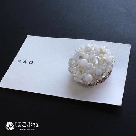 ブローチ No.34  KAO