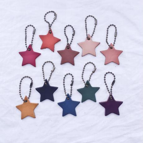 【体験予約】革の刻印 ストラップ・星