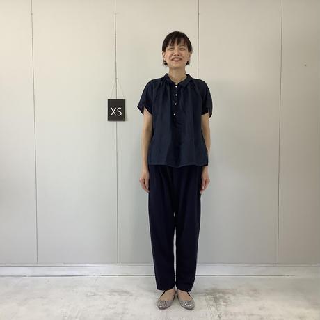 【 artepovera-2021summer15 】ミニ裏毛 2タックパンツ