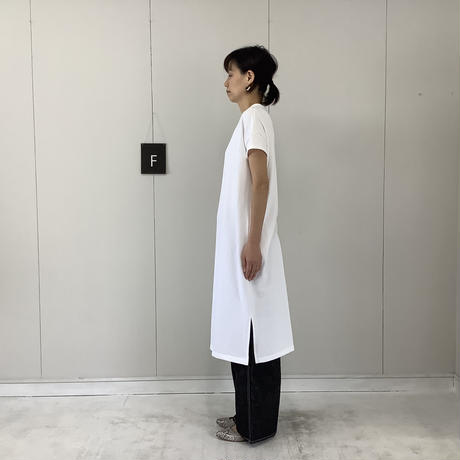 【 artepovera-2021summer11 】ミニ裏毛 フレンチワンピース