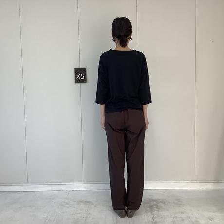 【 artepovera-2021summer45  】120/2天竺 ラグラン7分丈T