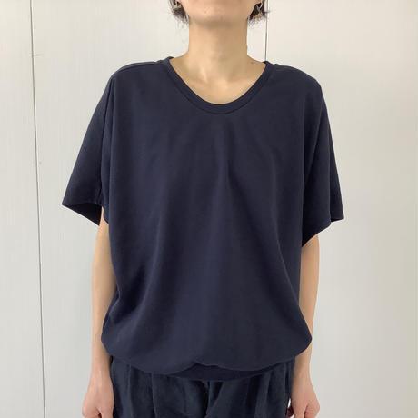 【 artepovera-2021summer13 】ミニ裏毛 UネックT