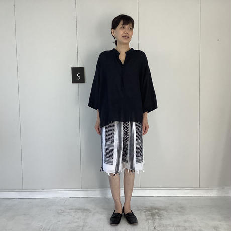 【 artepovera-2021summer25 】REアフガンストール イージーショーツ
