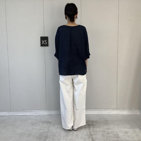【 artepovera-2021summer38  】リネン染め カフスリーブ