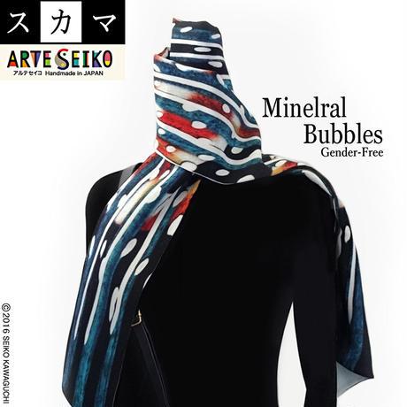 No.57 SCA★SCAMA スカマ【Mineral Bubbles】オリジナルプリント &ハンドメイド 少数販売品