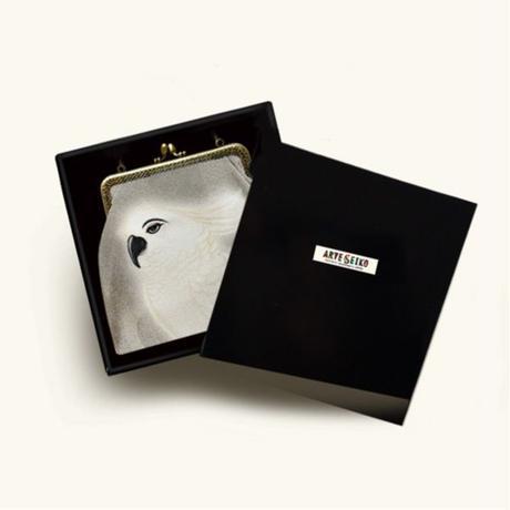 No.170 EP★2WAY Epocheエポシェ【Parrot】本体内ポケット+Pポーチ付オリジナルプリント&ハンドメイド少数販売品