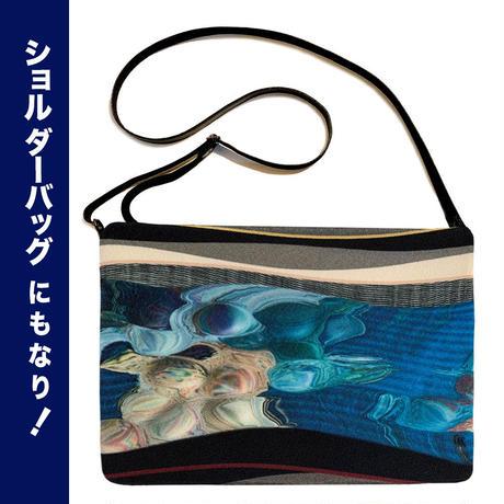 ★単品★C5/ リバースバッグ SAKASAベルト付【青い痕跡】