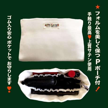 No.70 EP★2WAY Epocheエポシェ【Gold Marble】本体内ポケット+ Pポーチ付 オリジナルプリント &ハンドメイド少数販売品
