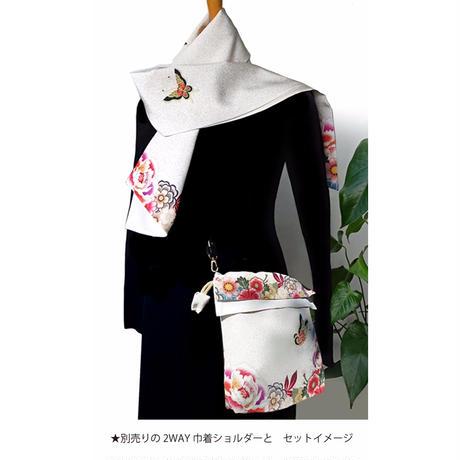 No.25 SCA★SCAMAスカマ【花てふてふ】オリジナルプリント &ハンドメイド 少数販売品