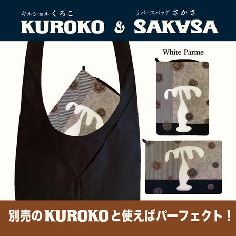 ★単品★B7/ リバースバッグ SAKASAベルト付【White Palme】