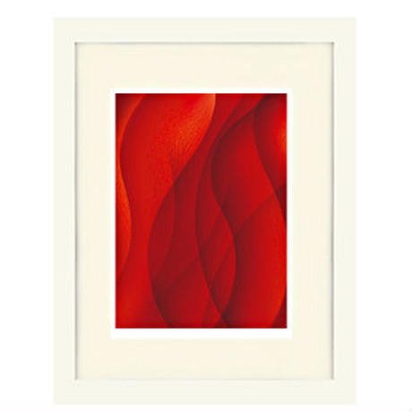 No.107★【Red-α予感】額装ジークレー版画(デジタルリトグラフ)