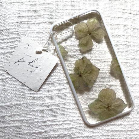フローラル i iphone 7/8 case (ホワイト)⑤