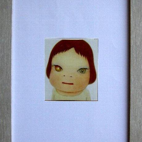 奈良美智 2005年制作映画のオリジナル・フライヤー額装