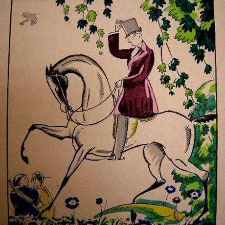j:アール・デコ版画 1919年制作   ad1