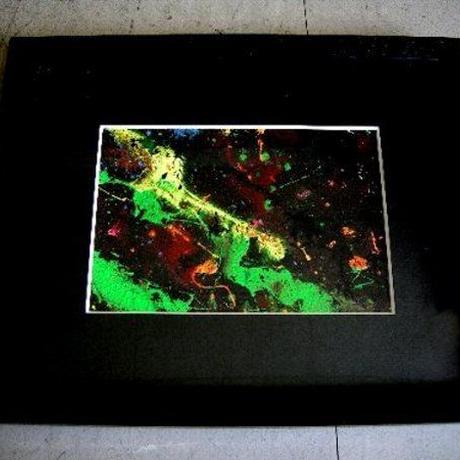 現代アート作家・今井アレクサンドルの Oil painting 抽象 1