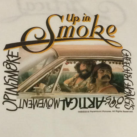 CHEECH & CHONG photo T shirt(white)