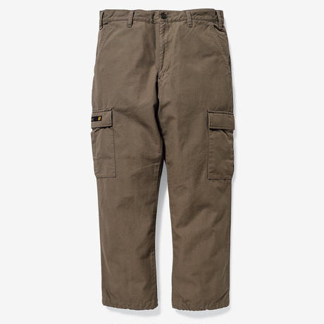 JUNGLE STOCK / TROUSERS. COTTON. CANVAS