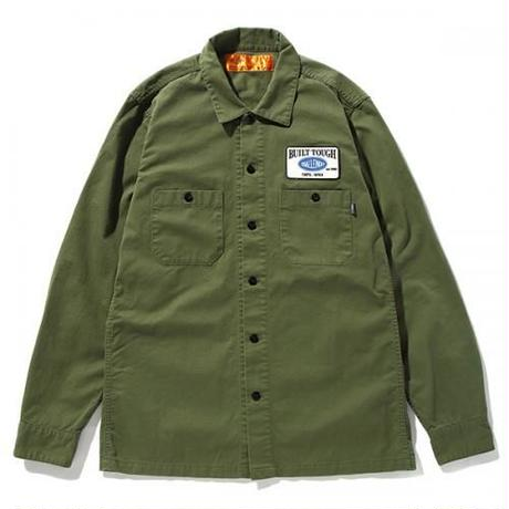 L/S PATCH WORK SHIRT
