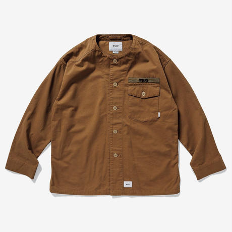 SCOUT LS / SHIRT. COTTON. TWILL