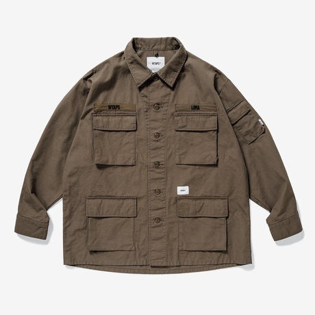 JUNGLE LS / SHIRT. COTTON. CANVAS