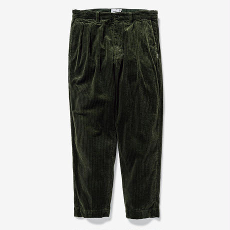 TUCK 02 / TROUSERS. COTTON. CORDUROY
