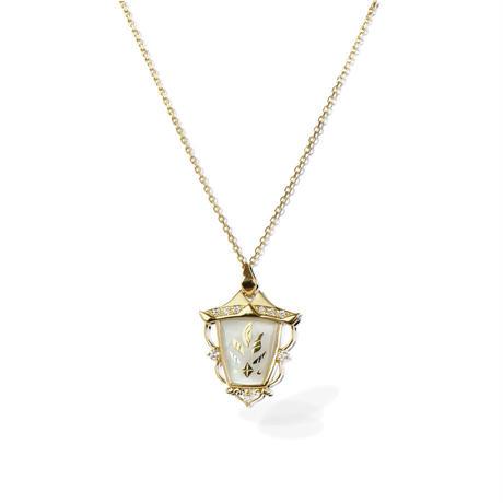 K18/PT900 ダイヤモンド ネックレス