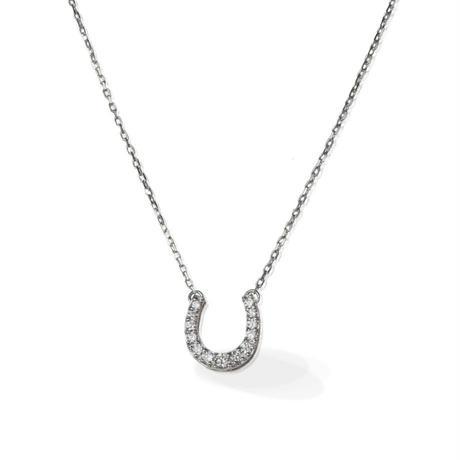 K18WG ダイヤモンド ネックレス