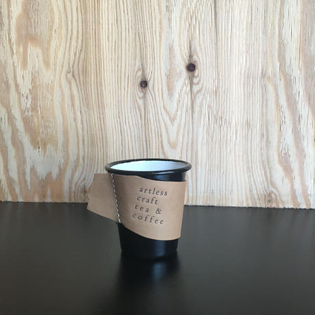 craft leather sleeve + falcon  enamelware cup