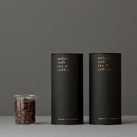 Coffee beans A1.+B1. &  premium paper tube(コーヒー豆・シングルオリジン 各100g  / 2本セット)