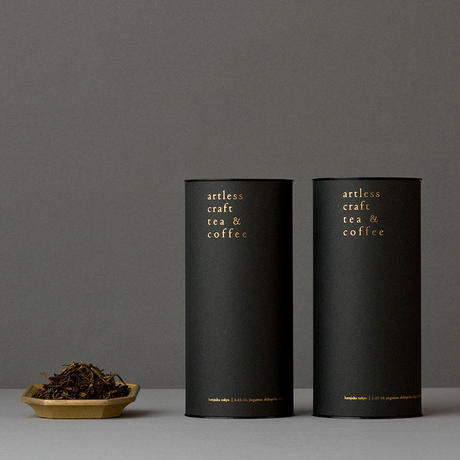 Organic Roasted Japanese tea + premium paper tube (有機焙じ茶 2本セット)