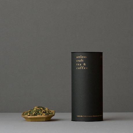 roasted brown rice tea - 玄米茶・無農薬有機栽培