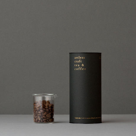 artless blend  &  premium paper tube(コーヒー豆・アートレスブレンド 100g)