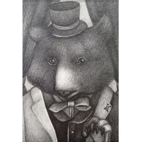 小川香織「熊の紳士」