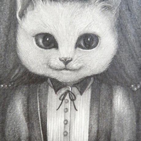 小川香織「猫のお嬢さん」