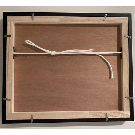 木製フレーム(黒)  Frame   10×12inch (Black)