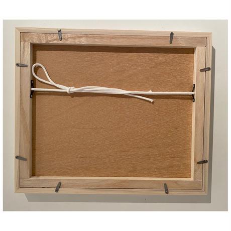 木製フレーム 白 Frame   10×12inch (White)