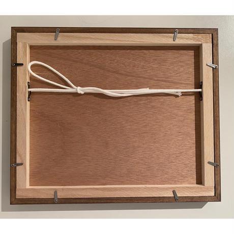 木製フレーム こげ茶 Frame   10×12inch (Dark Brown)