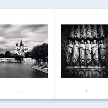 【AP版】希少!サイン入りプリント付  MICHAEL KENNA   One Picture Book Two #17 : Notre-Dame de Paris