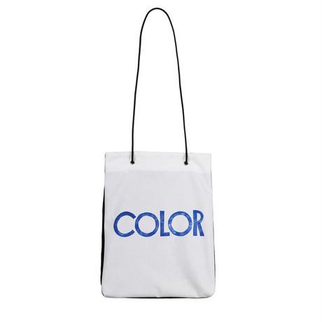 ARUMO どうぶつプリント ダブルポケットバッグ / カラー& ホワイト