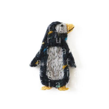 ペンギン(刺繍)