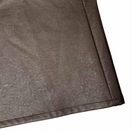 eco leather pants/3color