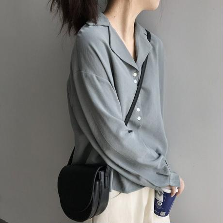 cute button shirts/3color