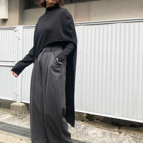asymmetry knit set/4color