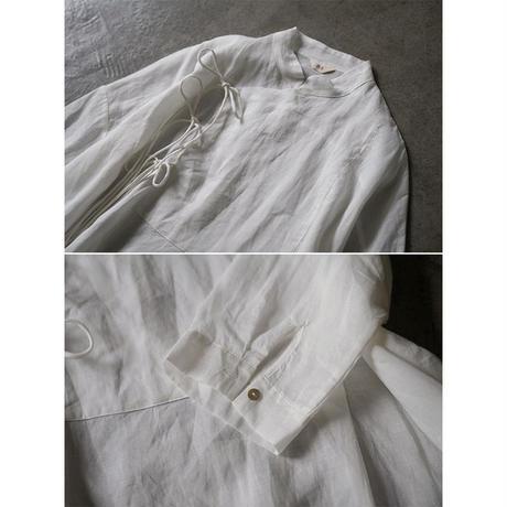 【linen 100%】china tunic(長袖)